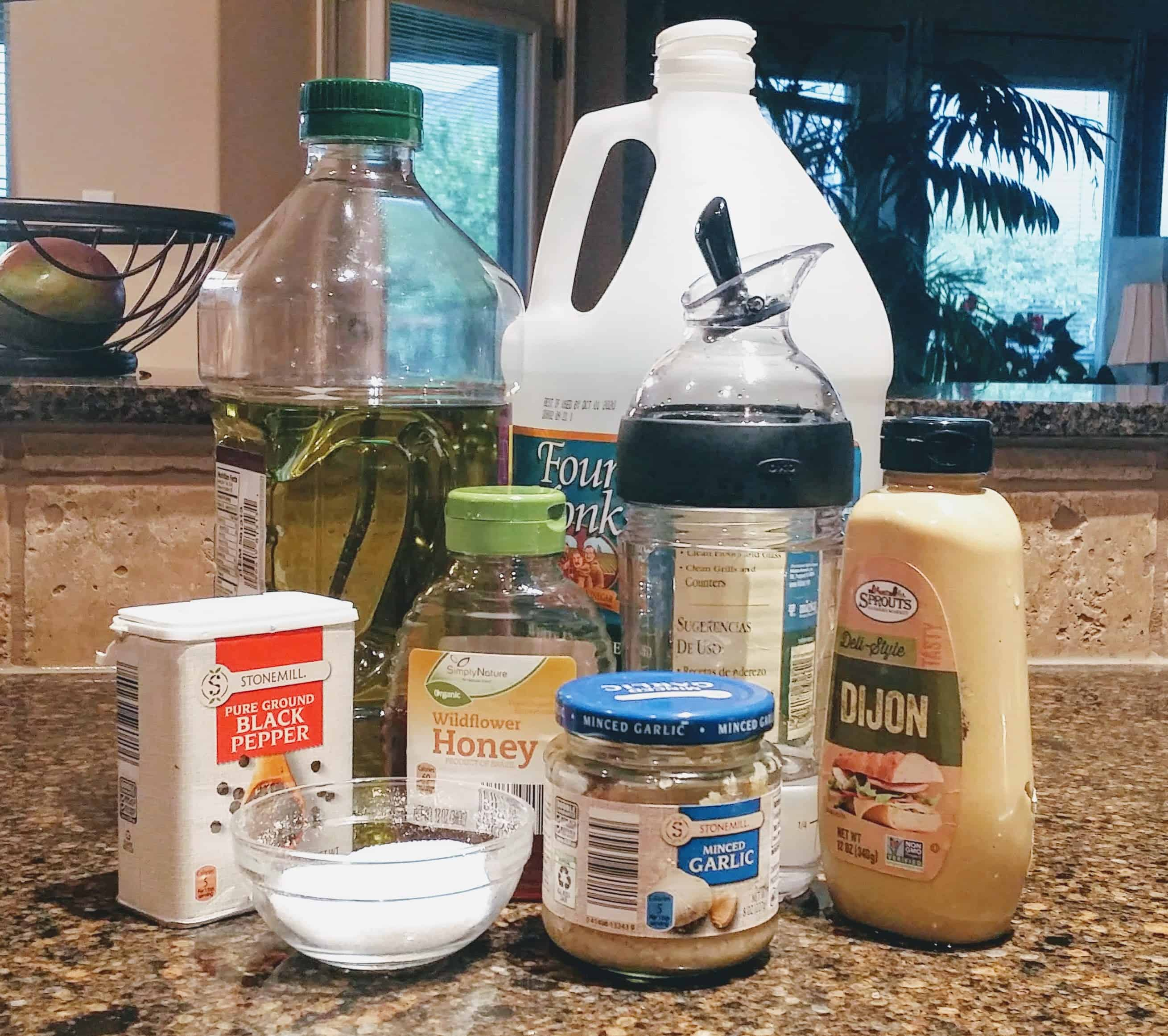 Super Easy and Clean Salad Dressing | The only homemade salad dressing you will ever Need | My kids dip everything in this salad dressing #healthyeating #healthyfood #eatingclean #eatingwell #groceryhaul #homemade