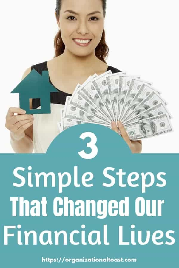 3 simple steps to change financial lives