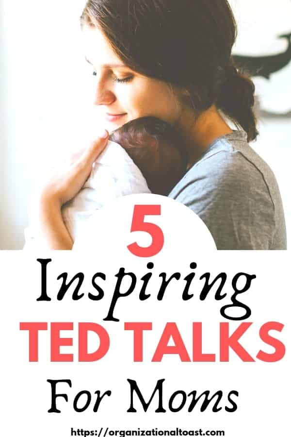 TED Talks are an amazing way to hear inspirational stories and learn about a variety of topics including parenting! Check out these TED talks about motherhood and parenting tips. You won't be disappointed! #motherhood #momlife