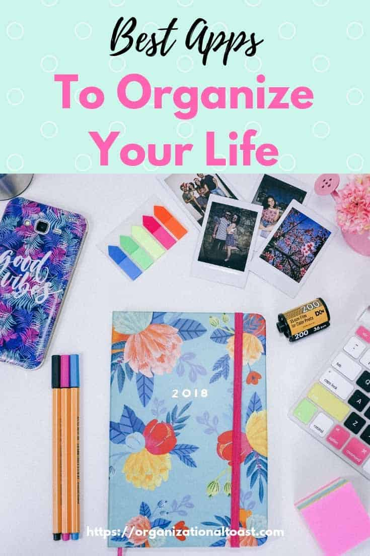 best apps to get organized