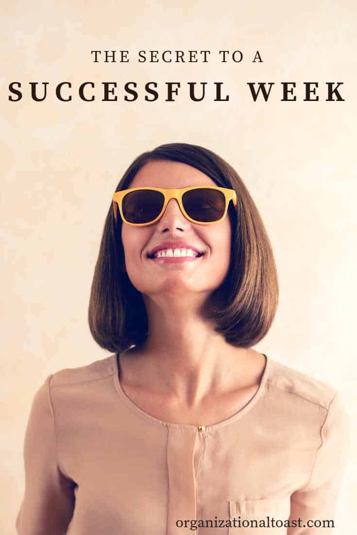 How to set yourself up for a great week. Increase your productivity and reduce your stress with these 3 steps.