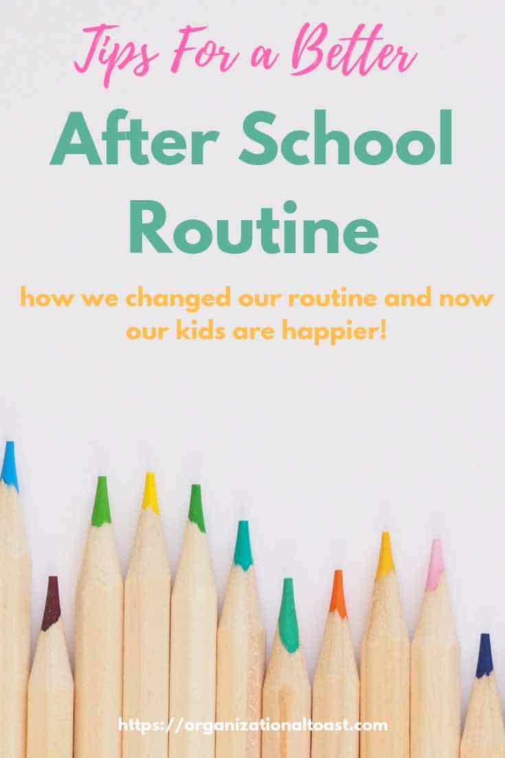 how we changed our after school routine | parenting tips