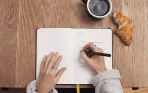power of writing down your goals
