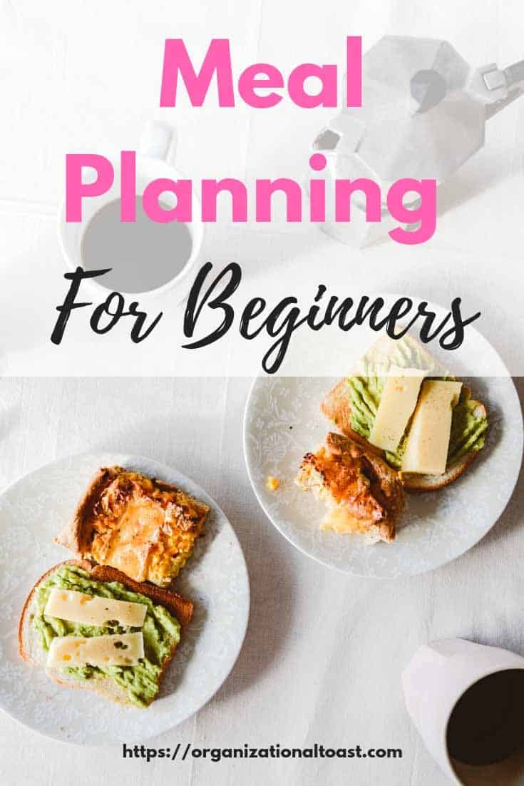 meal planning for beginners | meal planning as a budget tool