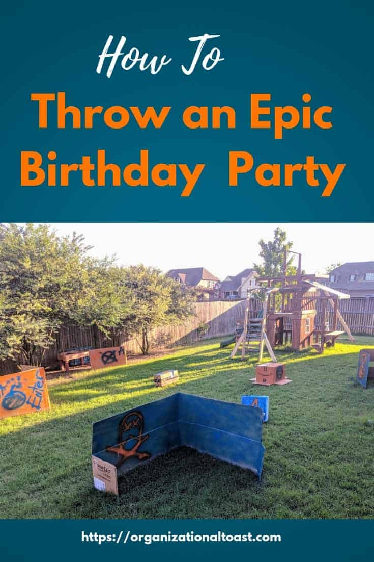 birthday party ideas for boys | nerf war | sleepover party | birthday party on a budget