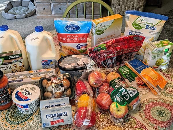 grocery haul and meal plan week 5 | meal plan for a family of four | groceries on a budget