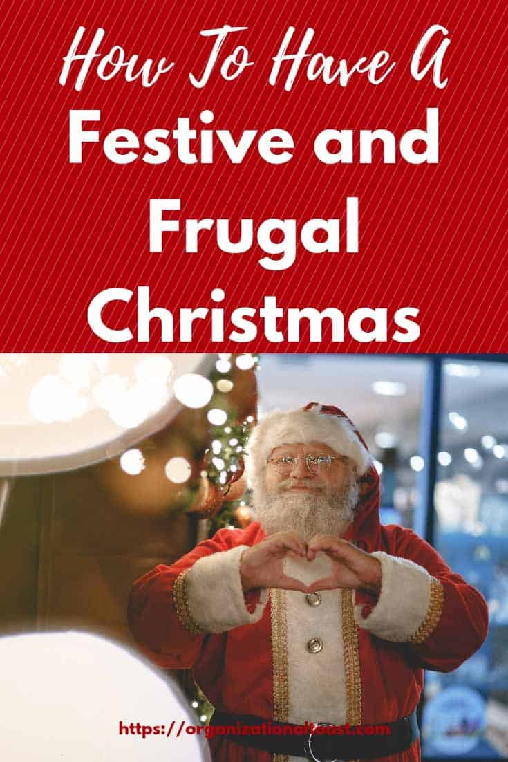 How to have a festive and frugal christmas #budget #moneysavingtips #christmasonabudget