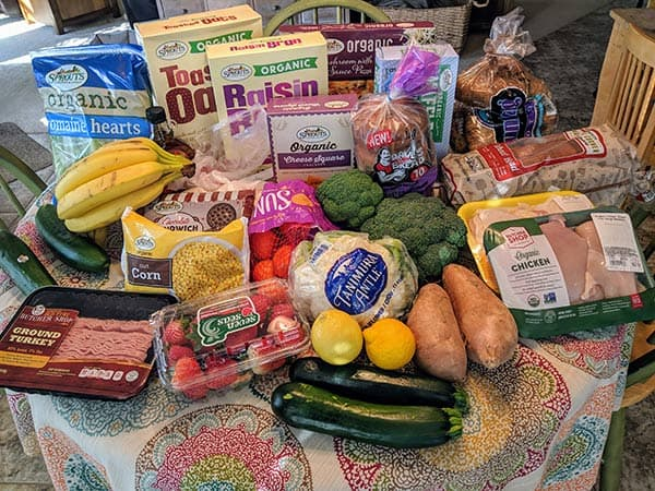 grocery haul and weekly meal plan | meal plan for family of four | grocery budget