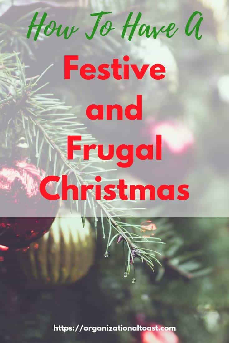 How to Have a Festive and Frugal Christmas | Money saving tips for a budget friendly Christmas