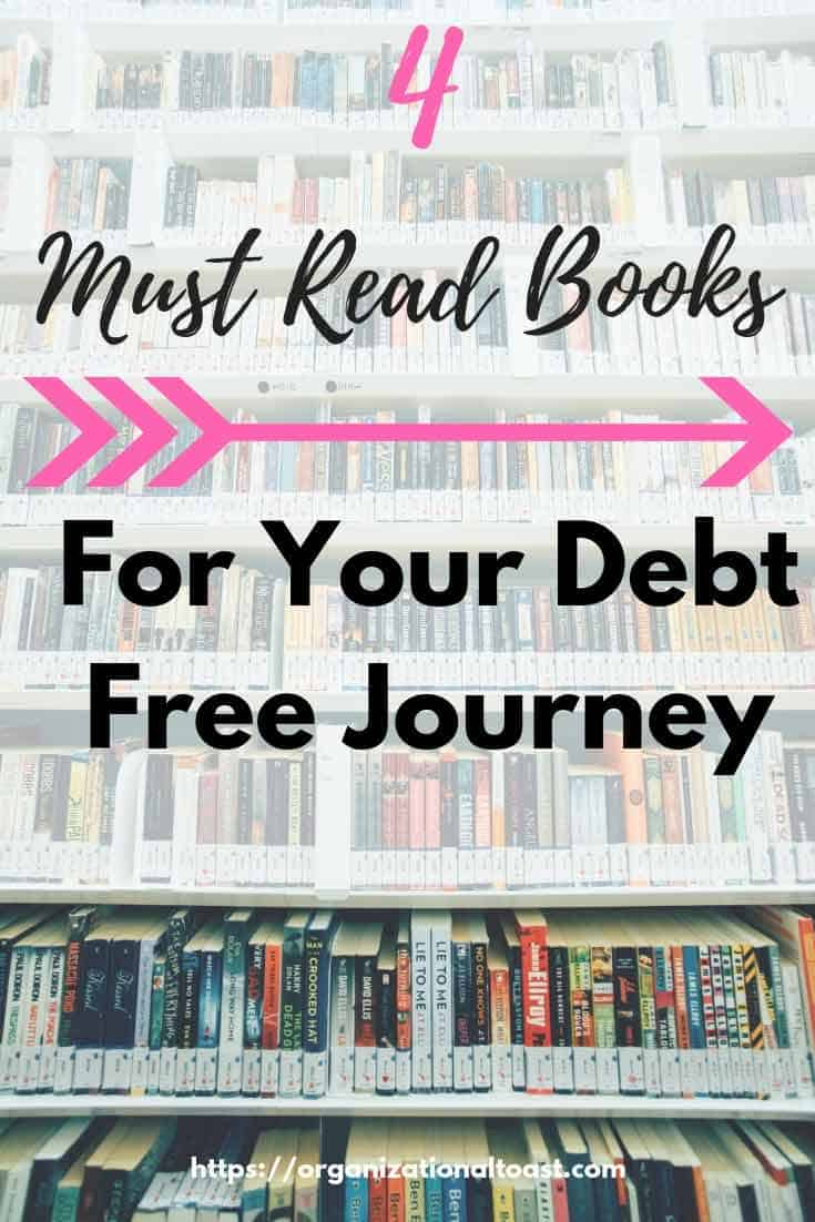 Must read books for your debt free journey | Personal Finance | Debt Free | Money