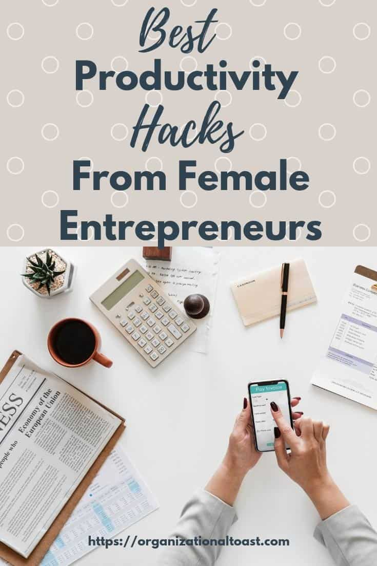 best productivity tips from female entrepreneurs | time management tips for moms #productivity