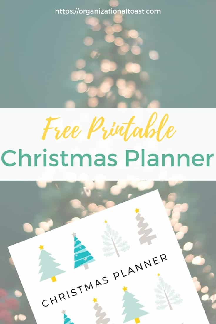 christmas planner | get organized for the holidays