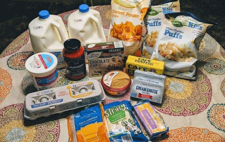 grocery haul and meal plan on a budget | grocery haul and meal plan for a family of four | aldi grocery haul