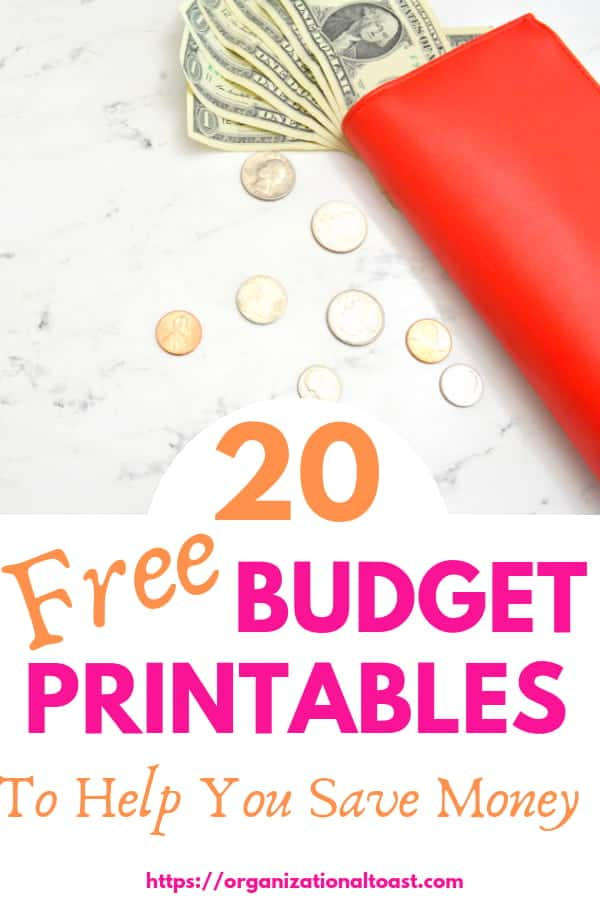 This list of free budget printables will help you create a budget. Includes budget binders, financial goal sheets, expense tracking sheets and more. All the best budgetinging printables for beginners. #personalfinance #debtfree #money