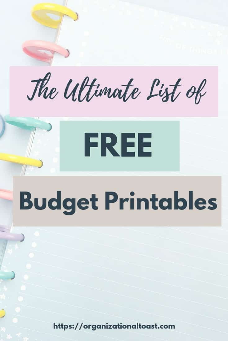 Check out this Ultimate List of Free budget ptintables. All the worksheets and tools you need to create a budget, manage your finances and reach your financial goals!
