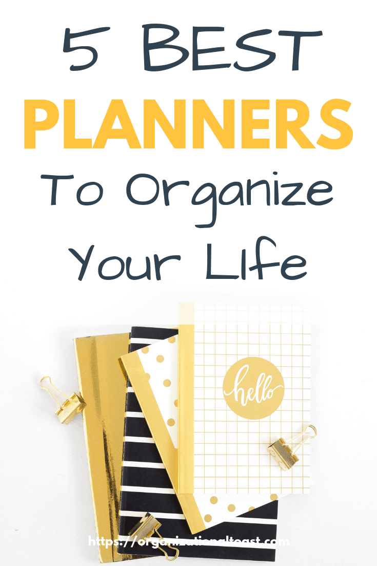 Mange your time better with these amazing planners! These planners and organizers are the BEST of the best out there and will help you keep everything and everyone on track! #planners2019 #plannersandorganizers #bestplanners