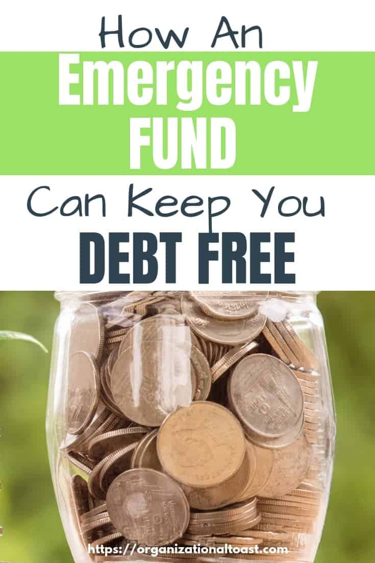 An Emergency fund is one of the most important tools for staying debt free. Includes the best tips to save for an emergency fund