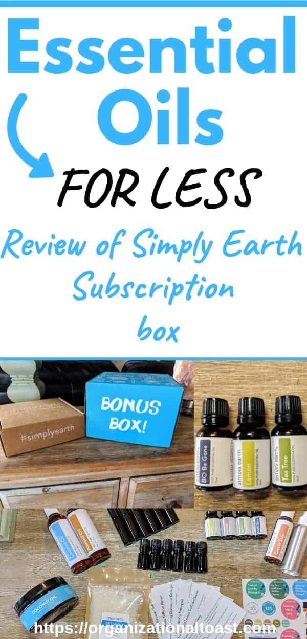 Simply Earth April 2019 Subscription Box Review