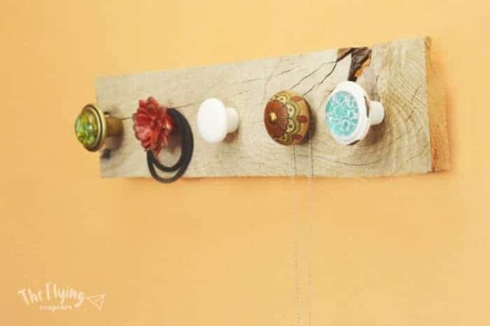 DIY Farmhouse Jewelry Hanger