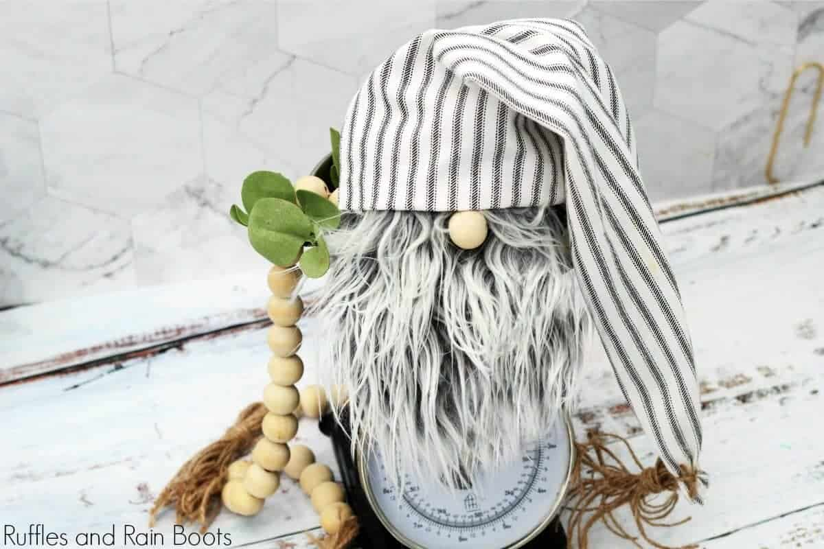 DIY Farmhouse Gnome
