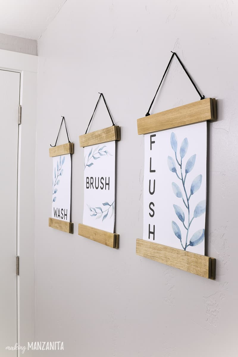 DIY Farmhouse Wall Signs