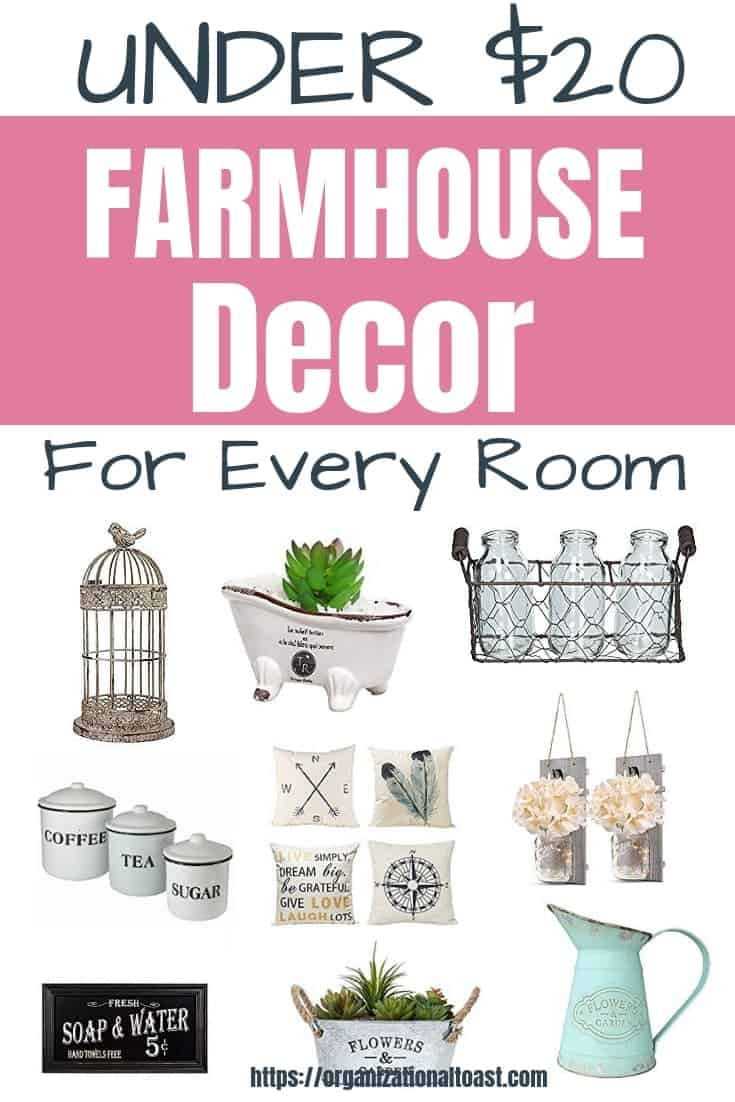 Cheap Farmhouse Decor