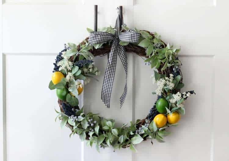 DIY Citrus wreath
