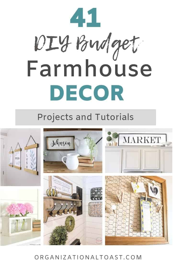 DIY Budget farmhouse decor