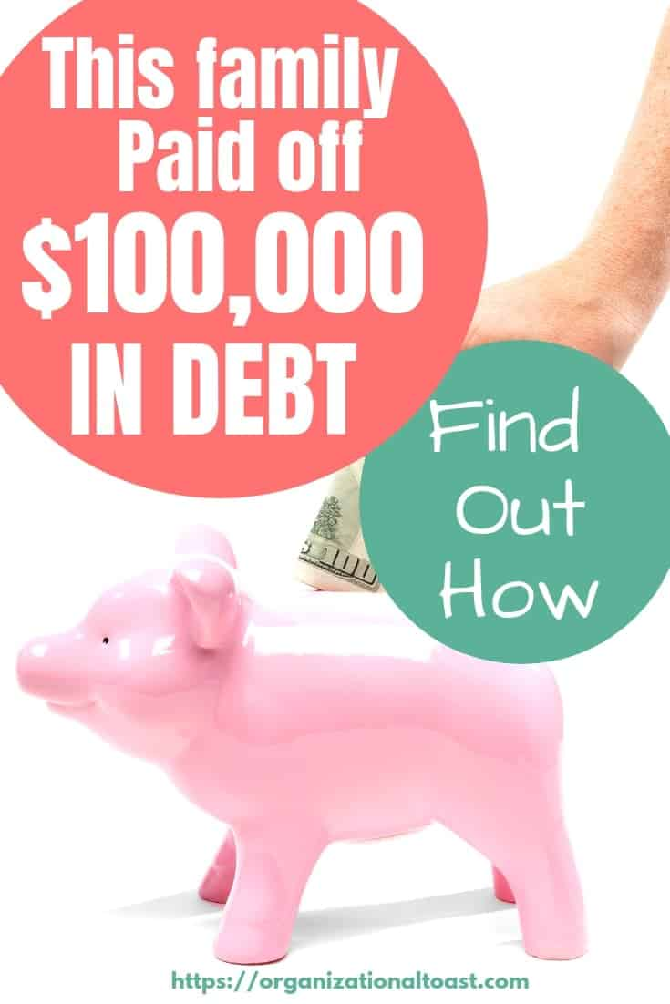 This family paid off $100000 in debt