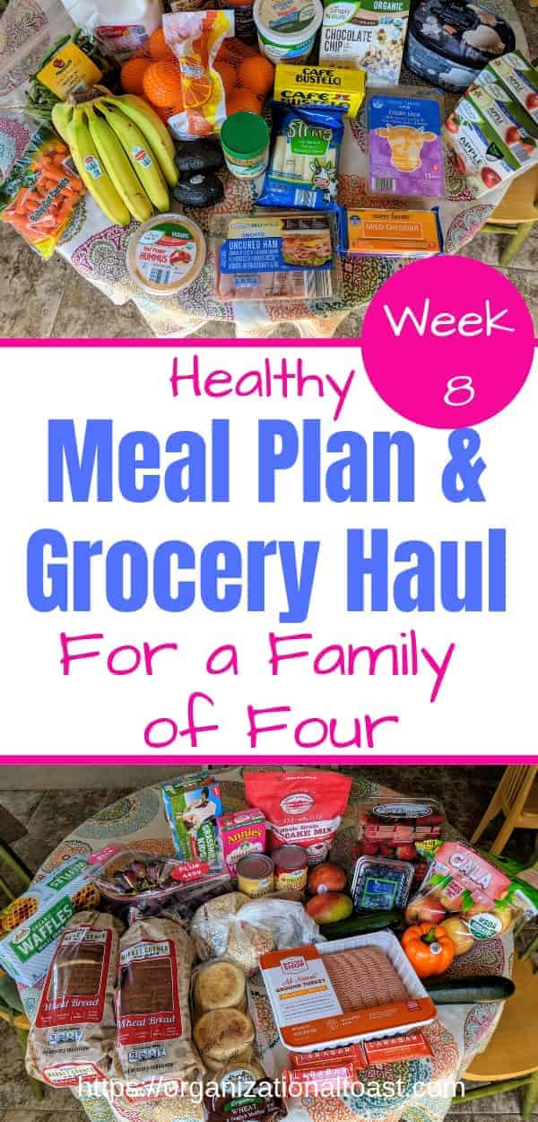 Meal Plan and Grocery Haul on A Budget