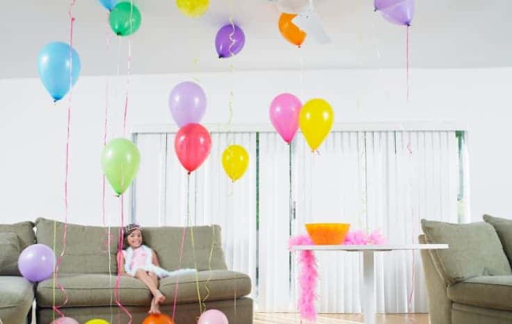 Budget Friendly Birthday Party decorations