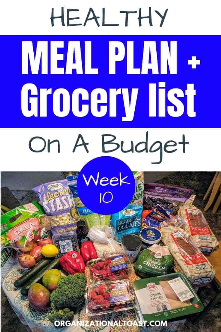Grocery Haul and Meal Plan Week 10