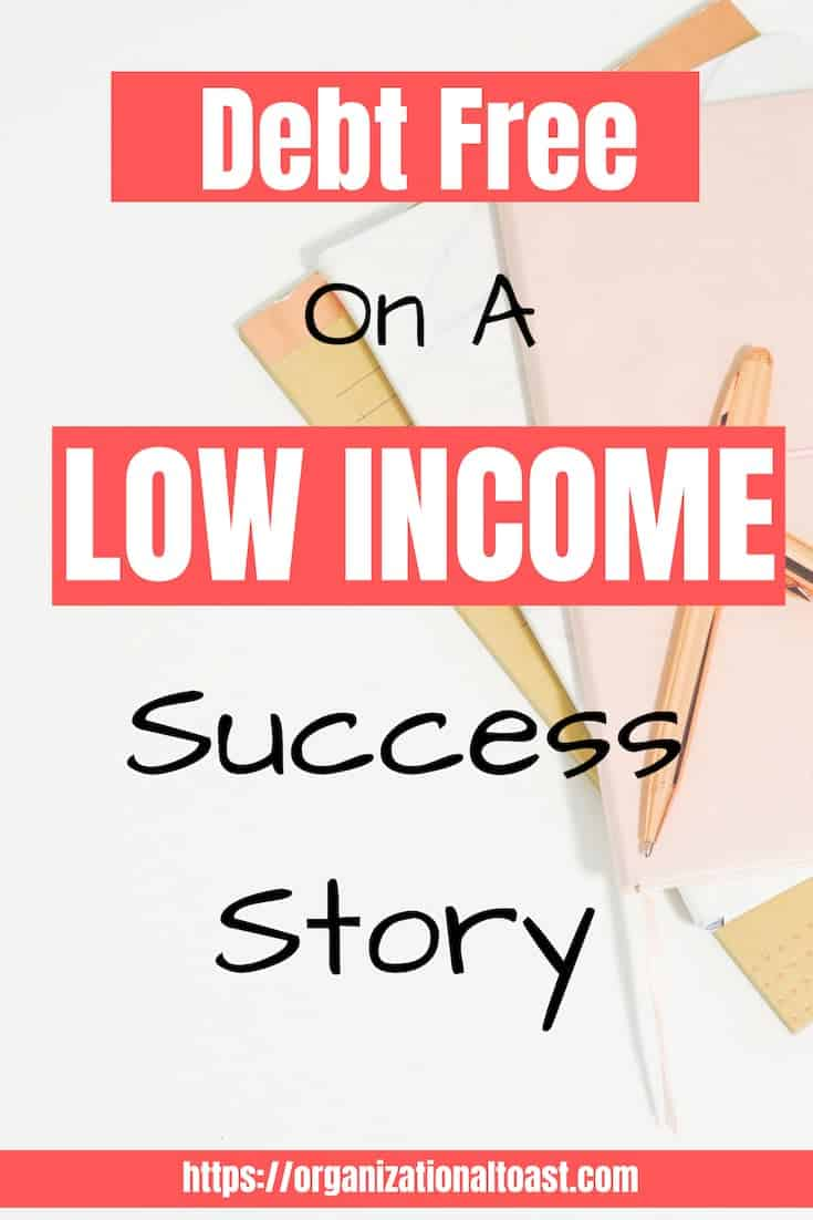 Debt Free on a low income success story