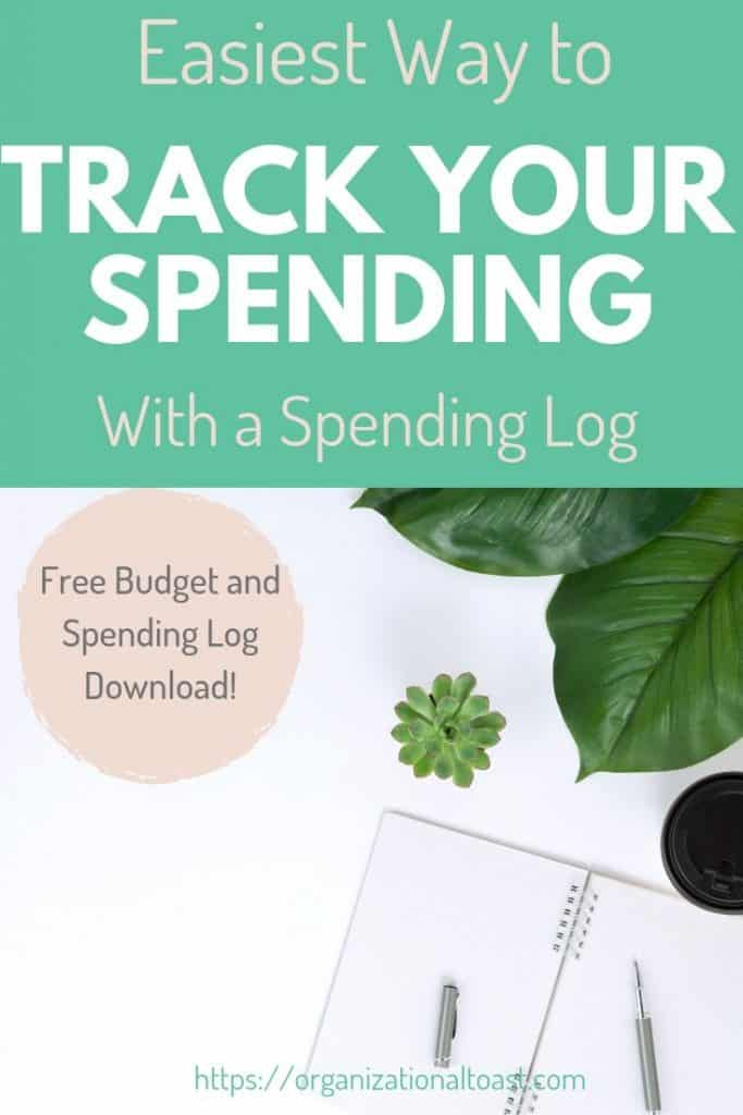 Easiest Way to Track Your Spending With A Spending Log