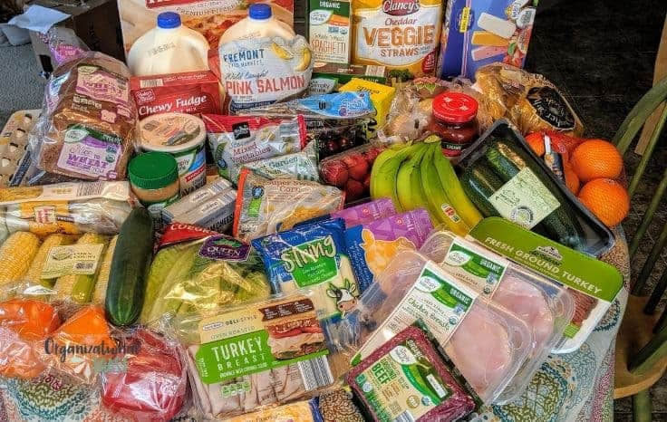 week 14 Grocery List and Meal Plan from Aldi