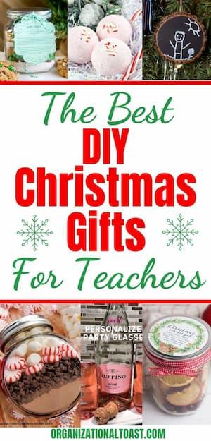 Best DIY Teacher Christmas Gifts