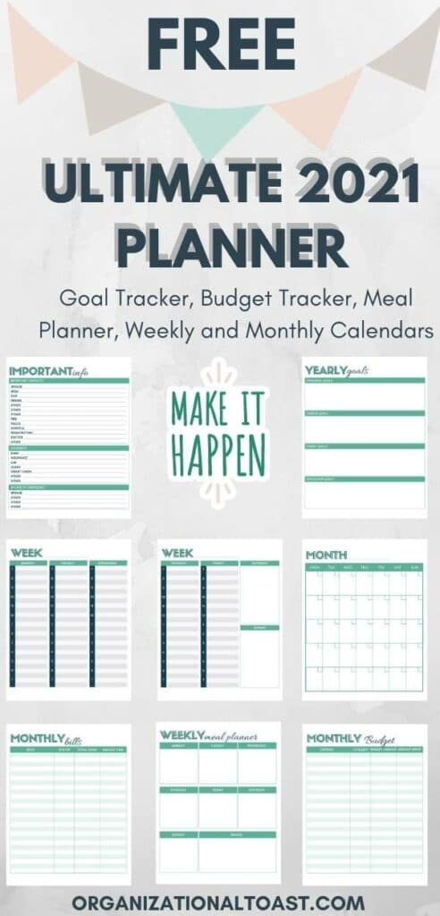 Free Ultimate Planner 2021