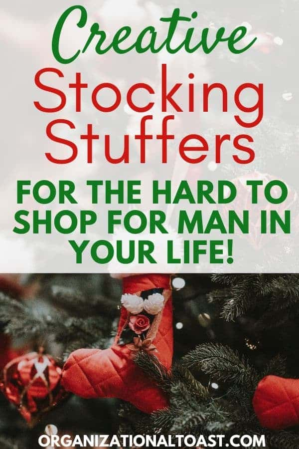 Creative Stocking Stuffers for the hard to shop for man in your life