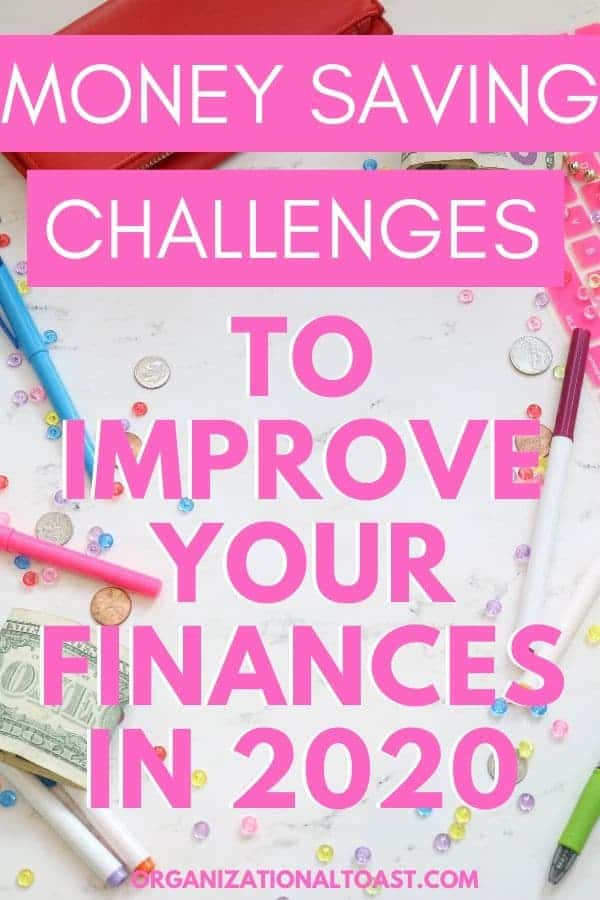 Money Saving Challenges to improve your finances in 2020