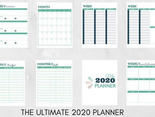 2020 Free Planner