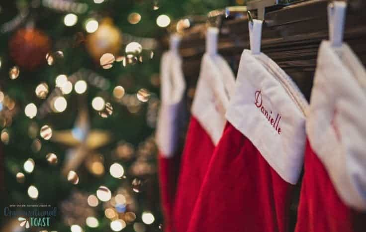 man's christmas stocking