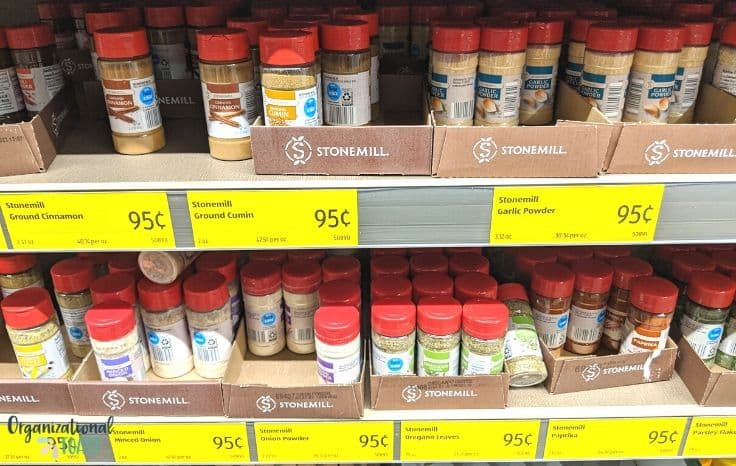 Aldi spices