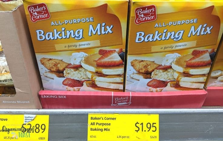 Aldi Baking Goods