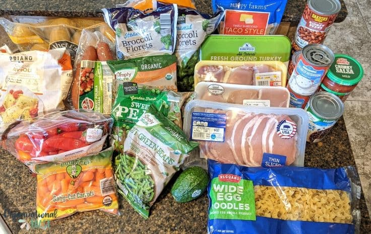 Aldi Grocery Shopping $50 meal plan