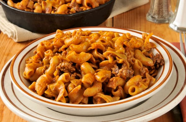 silly chili macaroni pantry meal