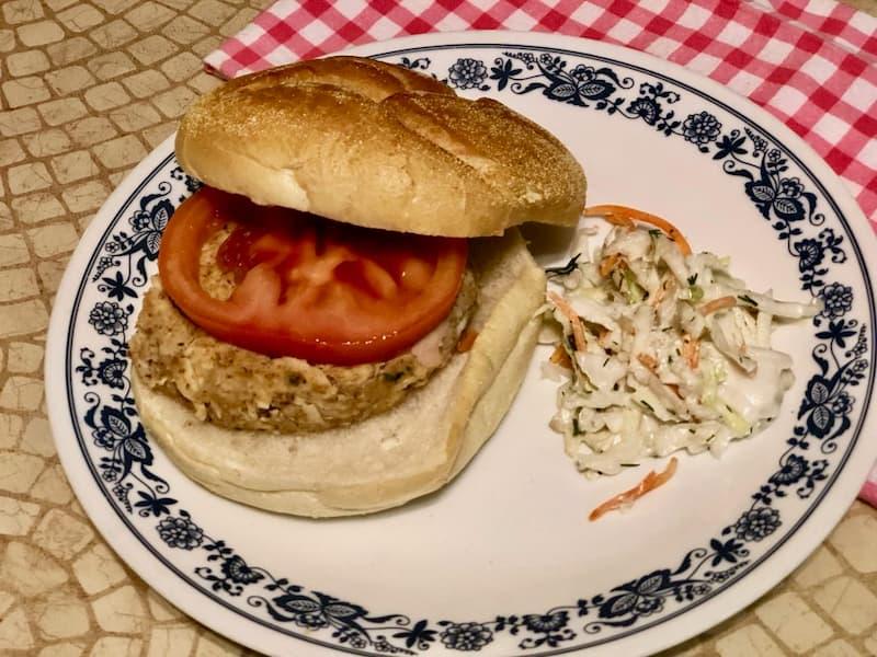 Tuna Burger Pantry Meal