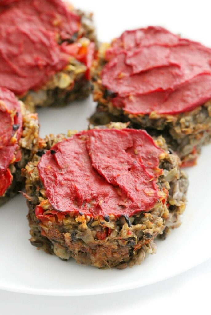 Vegan Meatloaf Muffins