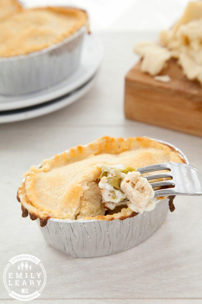 vegetarian pot pies