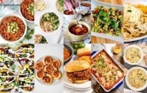 vegetarian meals for kids collage