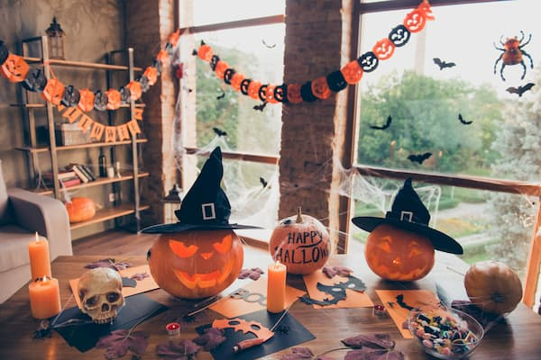 pumpkin themed party decorations